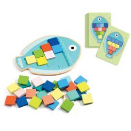 Djeco Képkirakó - Mozaik színek - Mosa Color