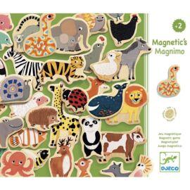 Djeco Mágneses kirakó - Vonzó állatfigurák - Magnimo