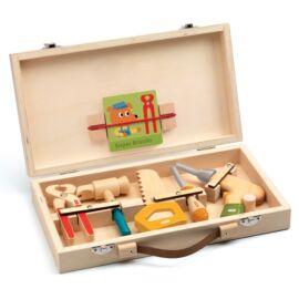 Djeco - Játék szerszám - Szerszámos táska - Super Bricolo