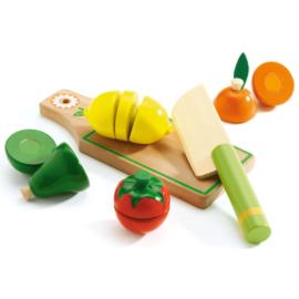 Djeco Szeletelhető gyümölcsök - Fruits & vegetables to cut
