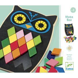 Djeco Képkirakó - Színes mozaik - Mosa Boo