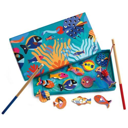 Djeco Horgász játék - Halgrafika - Fishing graphic