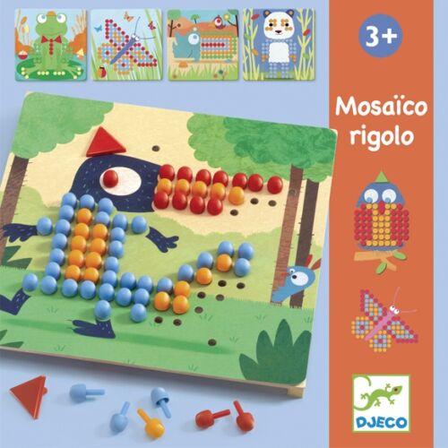 Djeco Pötyi mozaik - Vadállatok - Mosaico Rigolo