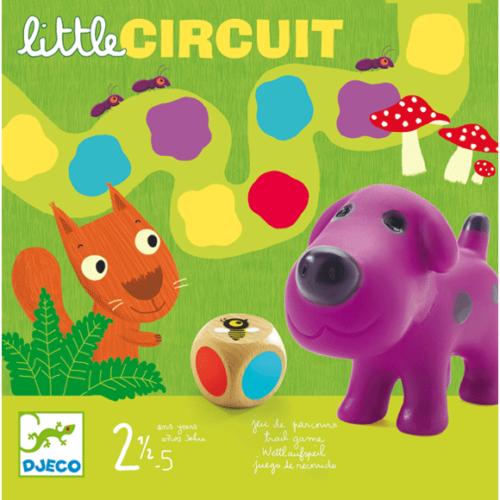 Djeco Társasjáték - Színlépegetős - Little circuit