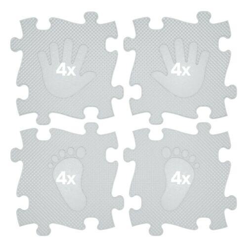 Muffik Magic Set Kéz-Láb Szőnyeg Szürke