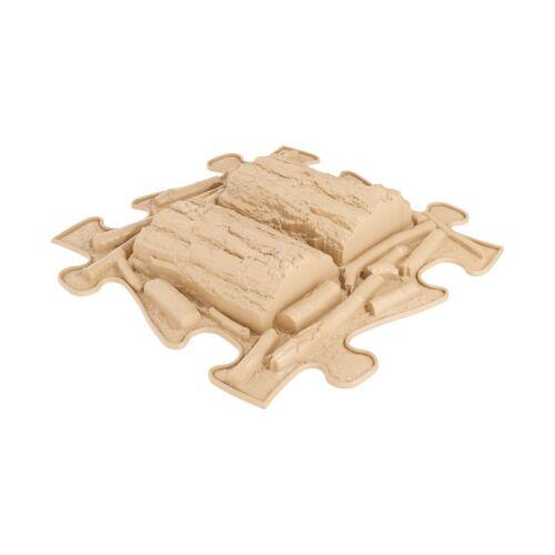 Muffik Kemény Fatörzs Puzzle Bézs