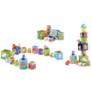 Kép 2/2 - Djeco Toronyépítő kocka - Mulatságos építő - 10 funny blocks